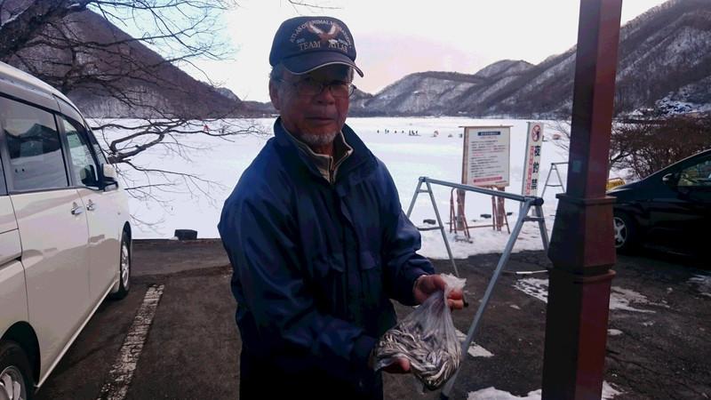 2月6日ワカサギ釣果